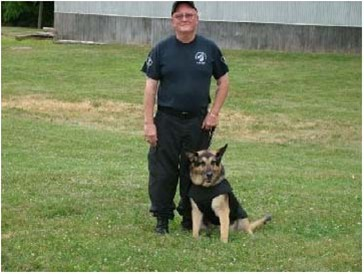 K-9 Officer Bill Faust & Bary