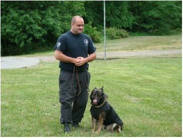 K-9 Officer Damen Schnieder & Brita