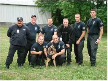 K-9 Officers at G. W. Hill Correction Facility & K-9 Zebediah
